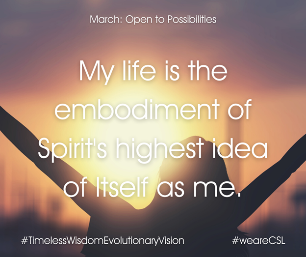 March: Open to Possibilities